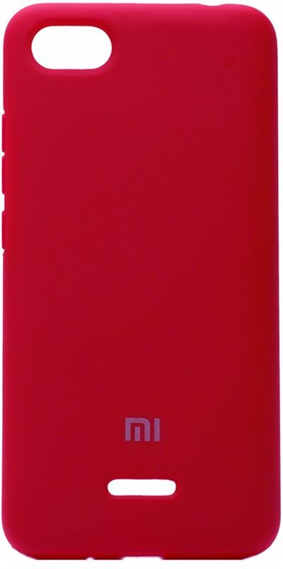 Чехол-накладка TOTO Silicone Case Xiaomi Redmi 6 Rose Red #I/S