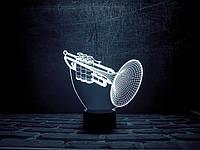 """Сменная пластина для 3D светильников """"Труба"""" 3DTOYSLAMP, фото 1"""