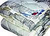 Одеяло закрытое овечья шерсть (Бязь) Двуспальное Евро T-51281