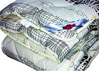Одеяло закрытое овечья шерсть (Бязь) Двуспальное Евро T-51281, фото 1