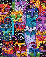 "Картина по номерам. Brushme ""Цветные коты"" GX9372"