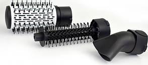 Фен щітка-гребінець Gemei GM-4828 | Стайлер 7 в 1, фото 2
