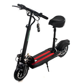 """Електросамокат Road Scooter H06A 10"""" зі знімним сидінням 350W/ 10Ah, до 32 км. год/до 40км, фото 2"""