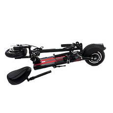 """Електросамокат Road Scooter H06A 10"""" зі знімним сидінням 350W/ 10Ah, до 32 км. год/до 40км, фото 3"""