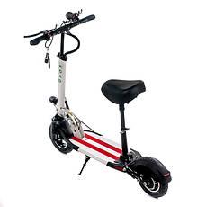"""Электросамокат Road Scooter H06С 10"""" со съёмным сиденьем 500W/ 12Ah, до 45 км.ч/до 40км, фото 3"""