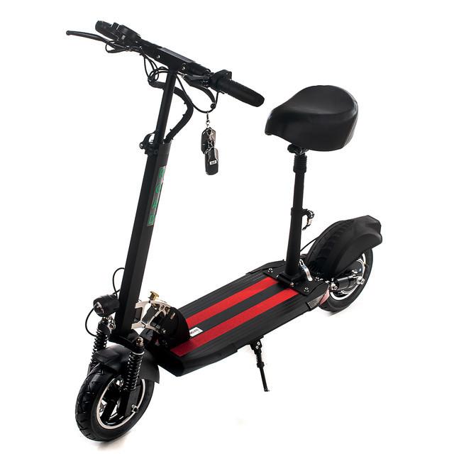 """Електросамокат Road Scooter Н06С 10"""" зі знімним сидінням 500W/ 12Ah, до 45 км. год/до 40км"""