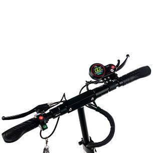 """Електросамокат Road Scooter Н06С 10"""" зі знімним сидінням 500W/ 12Ah, до 45 км. год/до 40км, фото 2"""