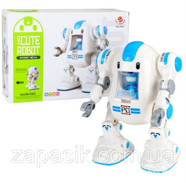 Робот Конструктор На Батарейках Diy Cute Robot