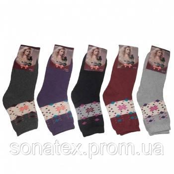 Шкарпетки жіночі махрові