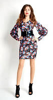 Отличное модное платье в цветочный принт