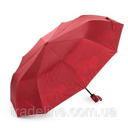 Зонт Полуавтомат Женский полиэстер 516-3 цветы, фото 2