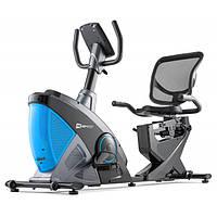 Горизонтальний велотренажер Hop-Sport HS-070L Helix iConsole+ blue