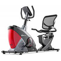 Горизонтальний велотренажер Hop-Sport HS-070L Helix iConsole+ red