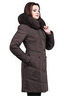 Молодежное теплое пальто