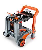 Оригинал. Мастерская Тележка с инструментами игрушечная Black & Decker Smoby 360200