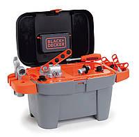 Оригинал. Мастерская инструментов в Чемоданчике игрушечная Black & Decker Smoby 360100