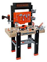 Оригинал. Мастерская инструментов игрушечная Black & Decker Smoby 360701
