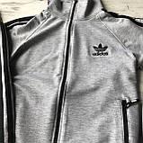 Спортивний костюм на хлопчика в стилі Adidas 387. Розмір 164 см, фото 4