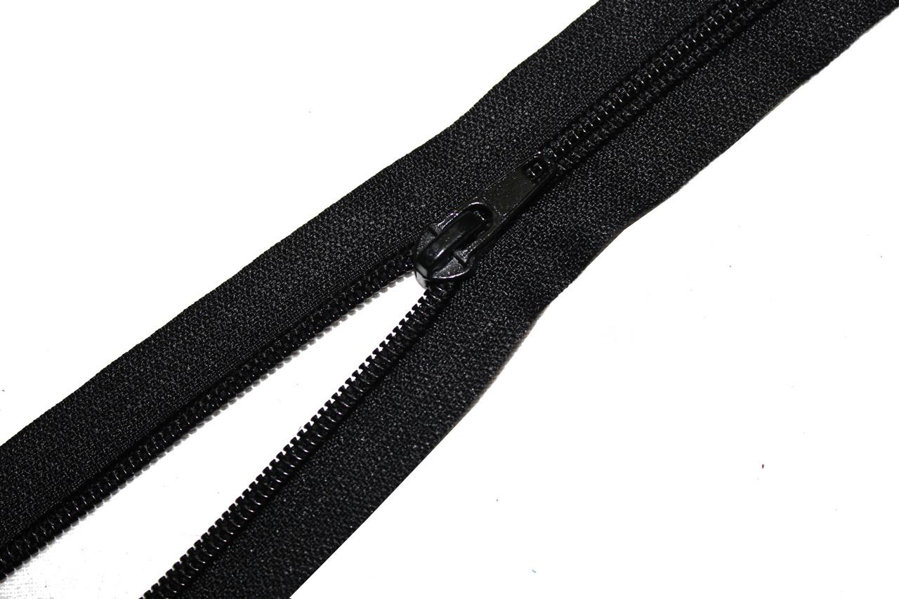 "Застежка-молния обувная ""Нейлон"" (Тип 7) 50см., черная"