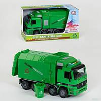 Машина мусоровоз инерционная со звуком световыми эффектами 899-5A