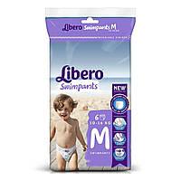 Подгузники-трусики Libero Swimpants Размер М (10-16 кг), 6 шт 3069-00 ТМ: Libero
