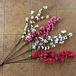 Ветка сакуры, цветы яблони110 см (10 шт. в уп), фото 2