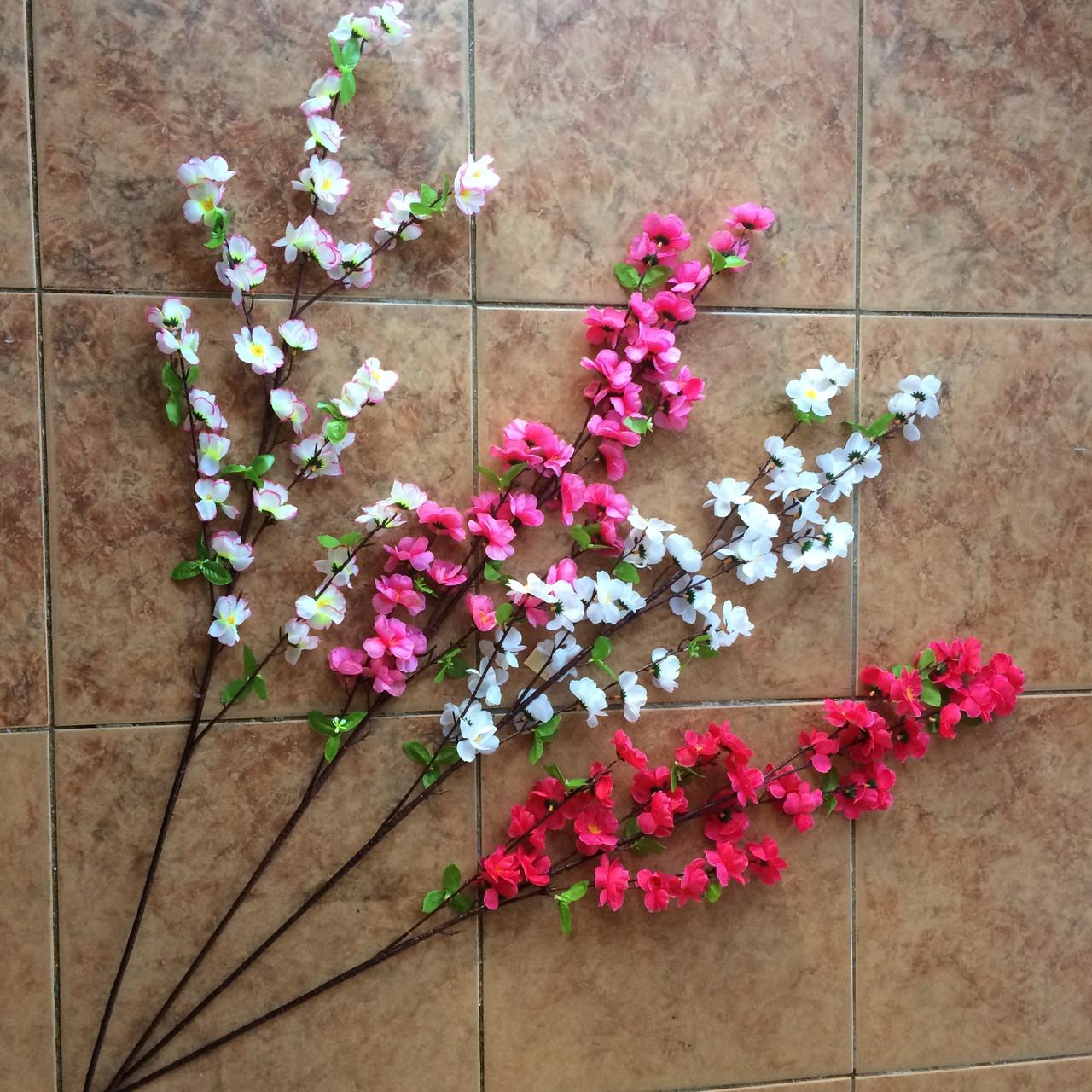 Ветка сакуры, цветы яблони110 см (10 шт. в уп)