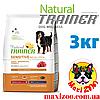 Корм Трейнер Natural Trainer Medium&Maxi для собак средних и крупных пород с ягненком и рисом 3 кг