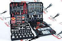 Набор инструментов ключей головок бит отвёрток 187 ел. Alfa Польша