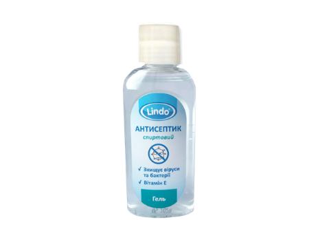 Антисептик для рук гель антибактеріальний 50 мл Lindo U 775