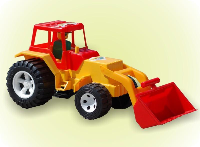 Трактор с ковшом 007/1, Бамсик, машинка,,детская игрушка для мальчиков