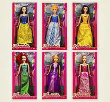 """Кукла """"Princess Disney/ Принцеса Диснея""""   29см, 6видов, в коробке 32.5*16.5*6см 1838-2"""