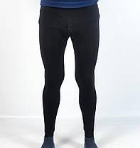 Подштанники мужские с начесом в черном цвете, фото 3