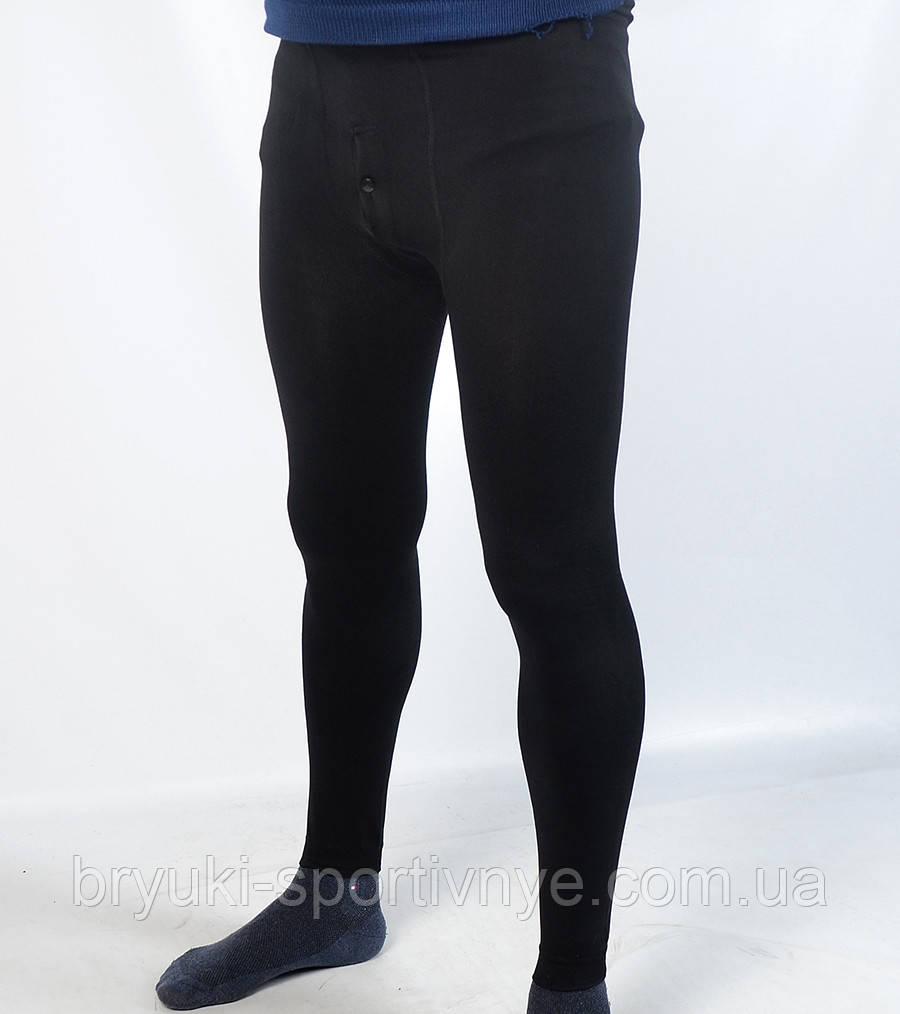 Подштанники мужские с начесом в черном цвете
