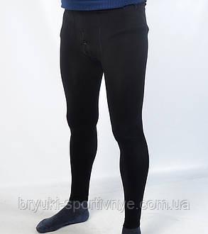 Подштанники мужские с начесом в черном цвете, фото 2