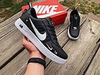 Мужские демисезонные кроссовки Nike Air Force 1 '82 черные