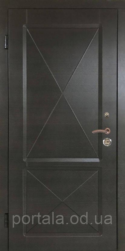 """Вхідні двері """"Портала"""" (серія Комфорт) ― модель Граф 3"""