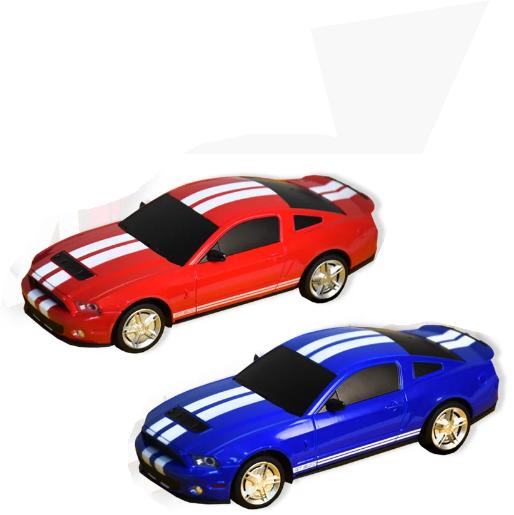 Машинка металева Автопром на р/у 8823 FORD SHELBY GT500, масштаб 1:24
