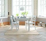 Стул обеденный белый деревянный , фото 3