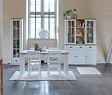 Стул обеденный белый деревянный , фото 5