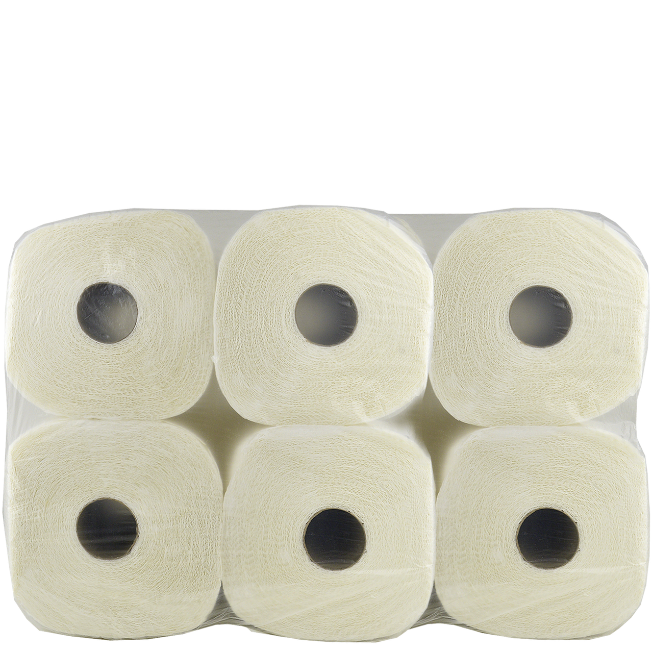 Полотенца бумажные в рулоне Primier 2-х слойные 100% целлюлоза (6*150листов) 1уп/6шт (1ящ/2уп)