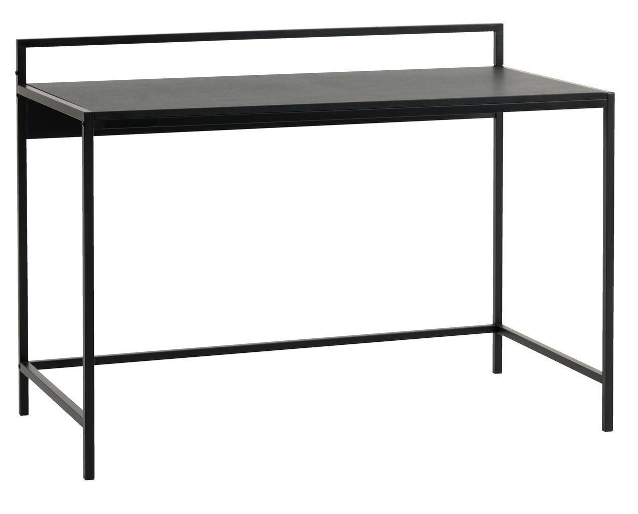 Стол офисный письменный черный