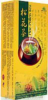 Чай с пыльцой сосны Сун Хуа. Это символ долголетия, и ее пыльца является источником жизни и здоровья.