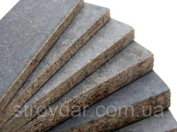 Цементно-стружкові плити ArmoPlit (ЦСП) 1600х1200х12 мм