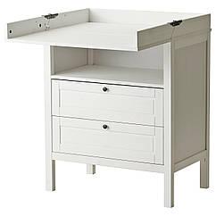 IKEA SUNDVIK (304.240.07) Пеленальний стіл/комод