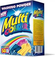 Multicolor стиральный порошок для цветных тканей 5 кг картон