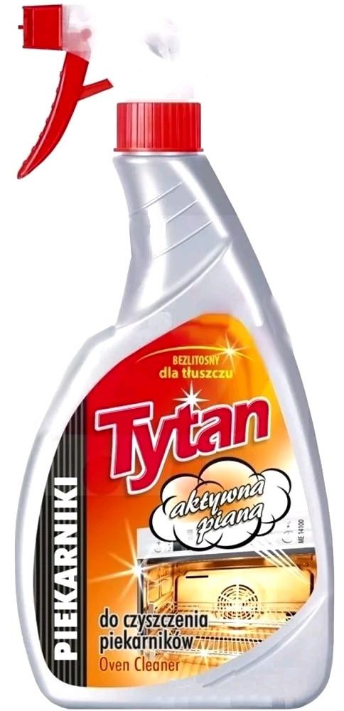 Жидкость для мытья духовок Tytan  500 мл спрей