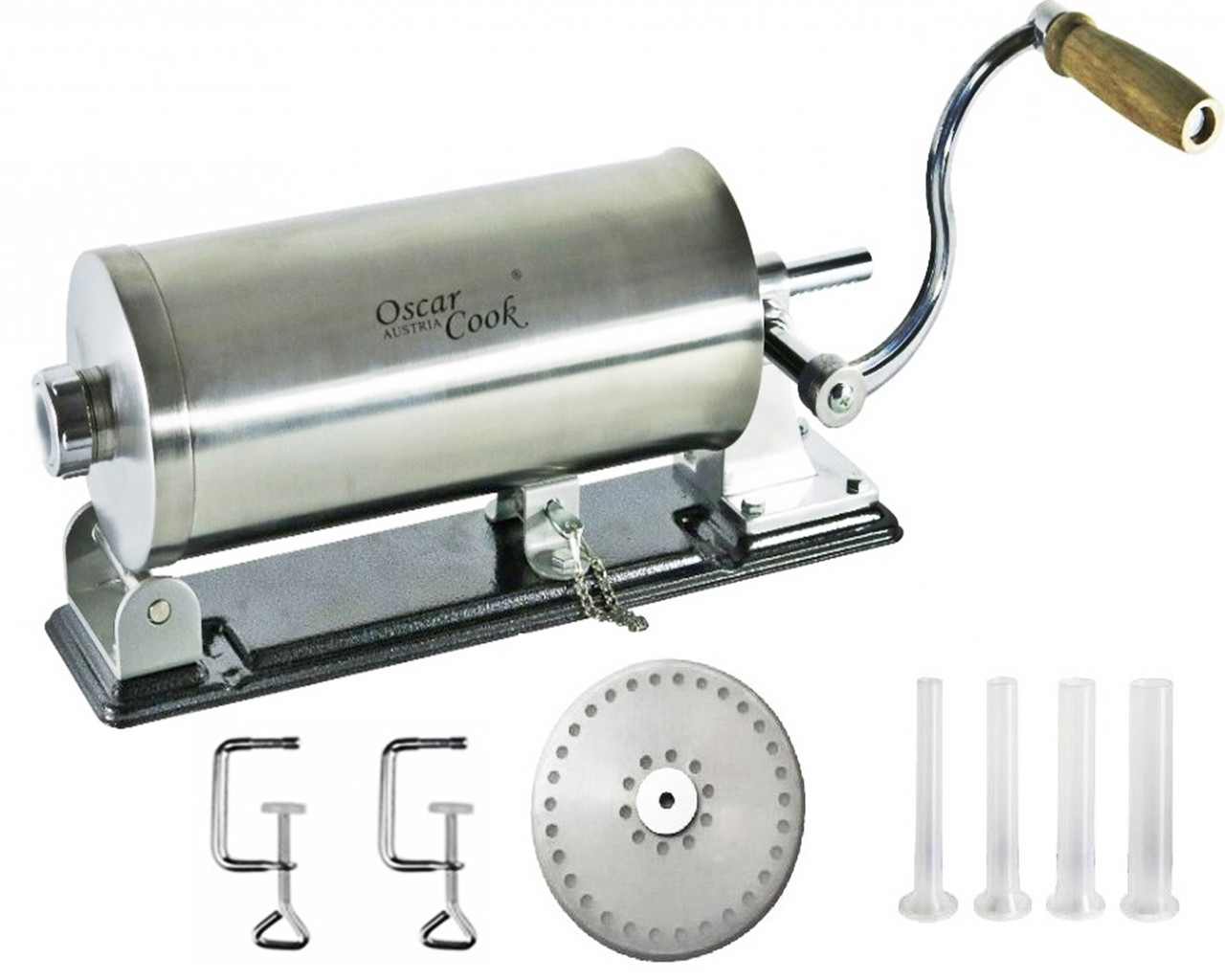 Шприц колбасный OSKAR COOK 3 кг 4 насадки