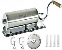 Шприц колбасный OSKAR COOK 3 кг 4 насадки, фото 1