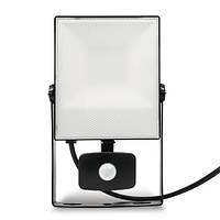 Светодиодный прожектор LED 30W с датчиком движения , фото 1